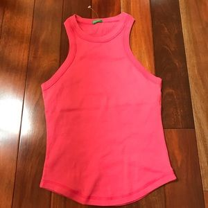 United Color Of Benetton tank pink